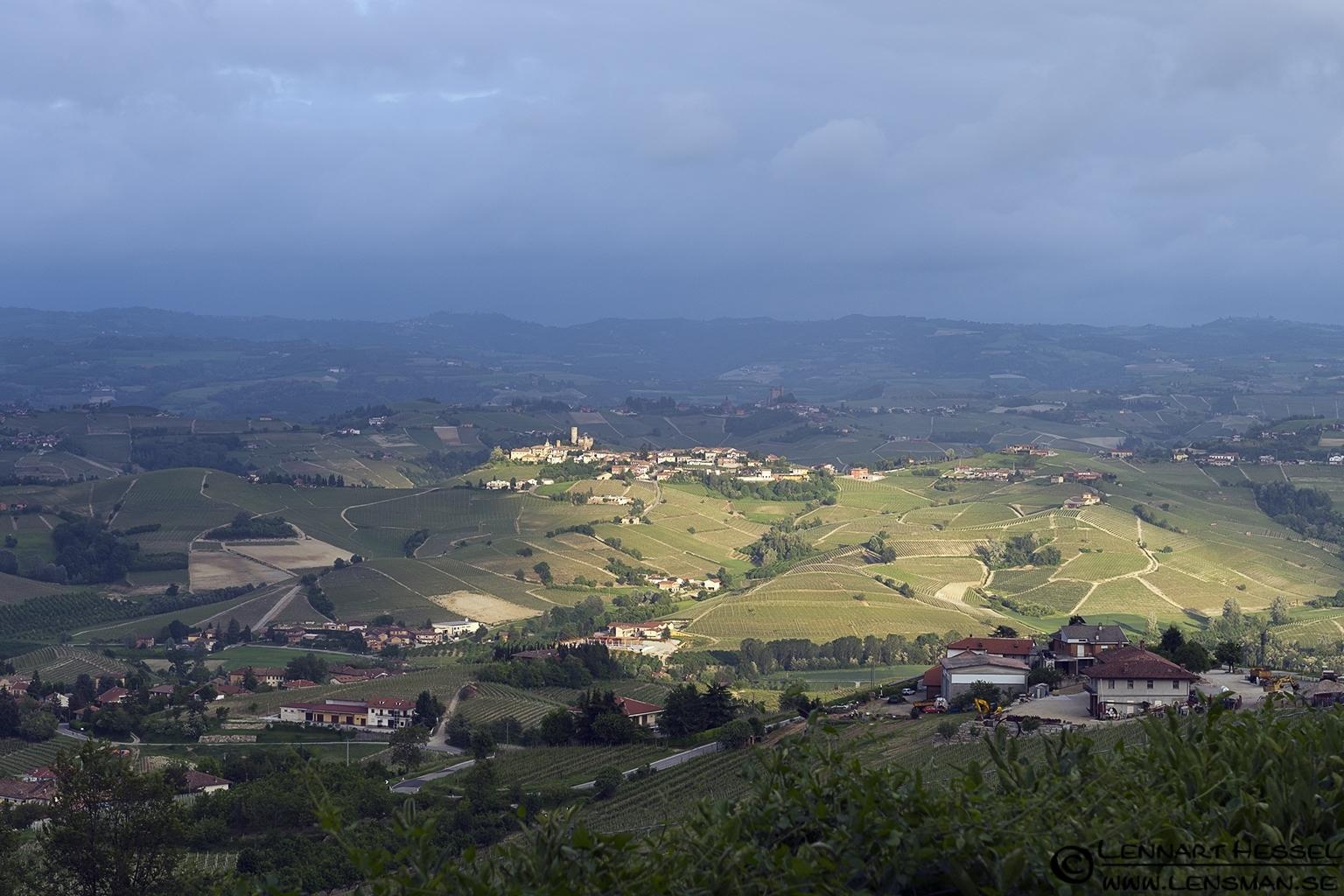 Castiglione Falletto in Piedmont, Italy
