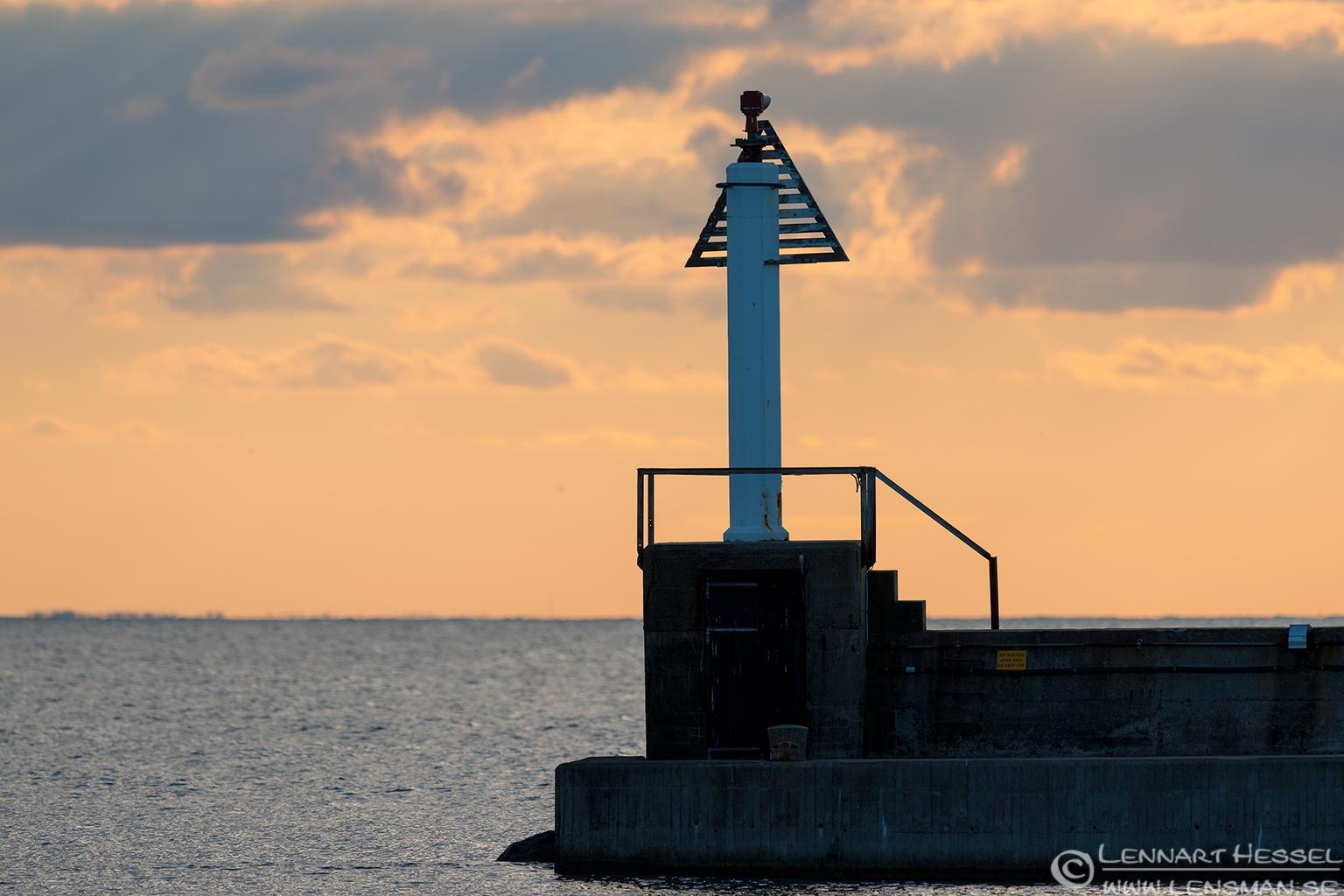Sunset from Byxelkrok Öland 2012