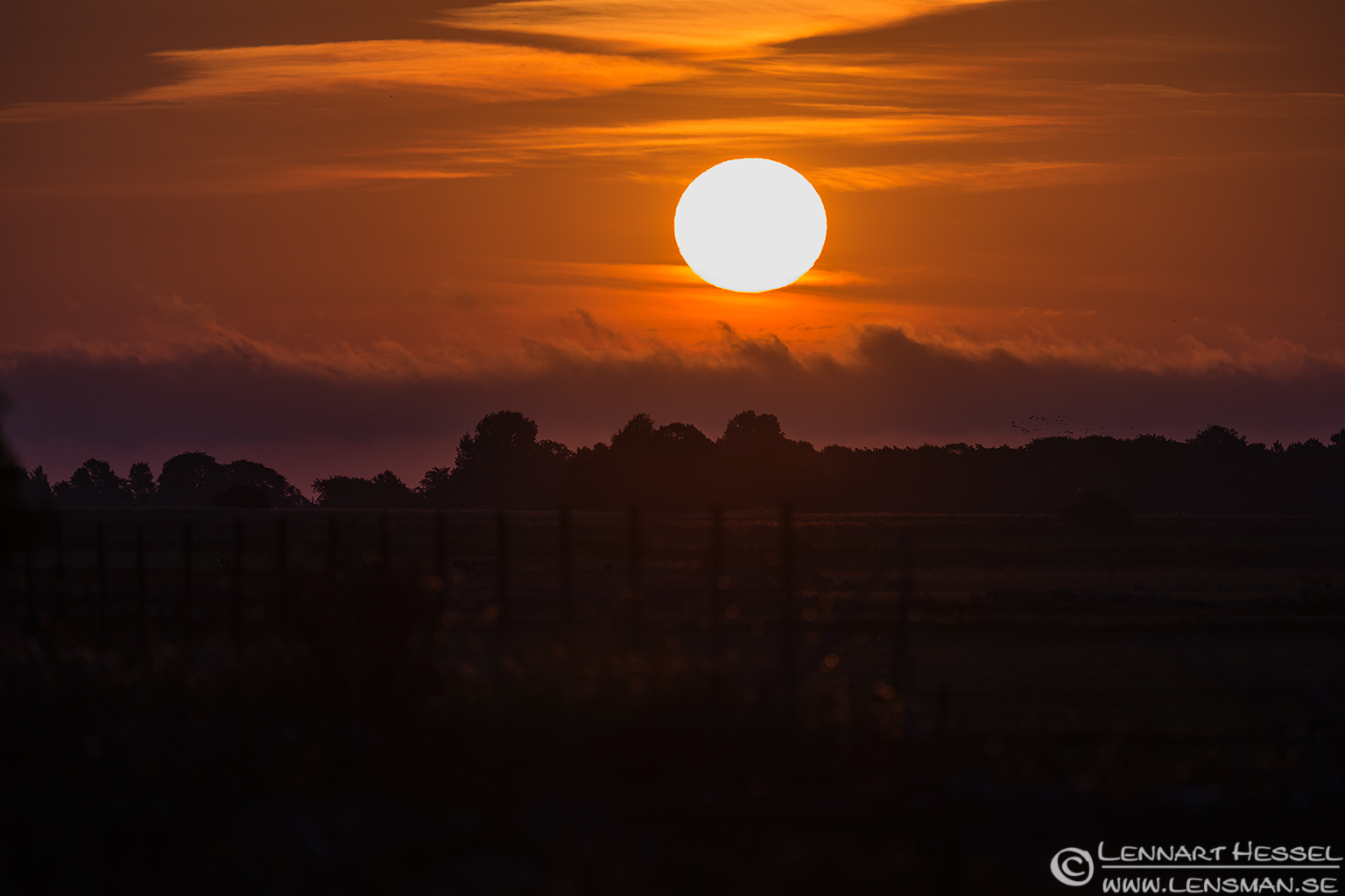 Sunrise Öland 2012