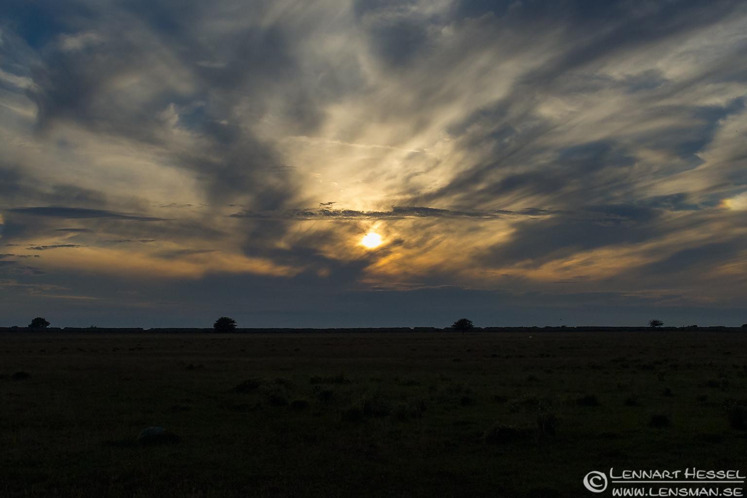 Sunset Öland 2012