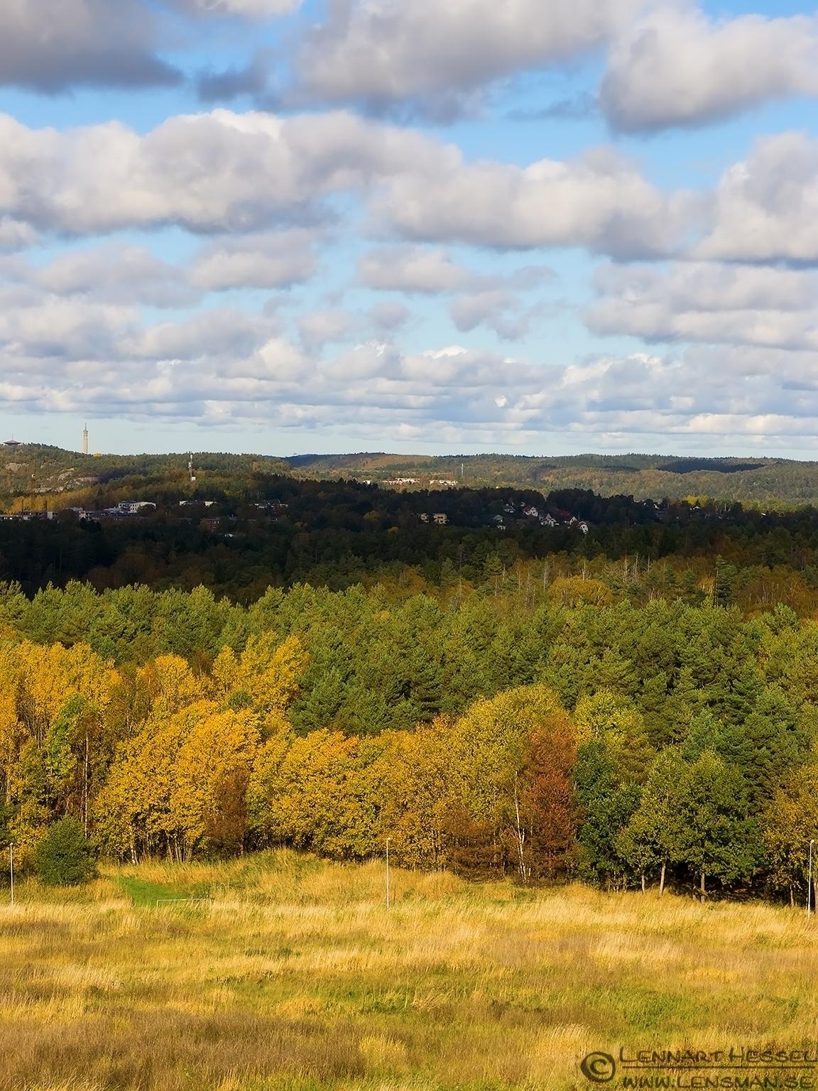 View from Brudarebacken