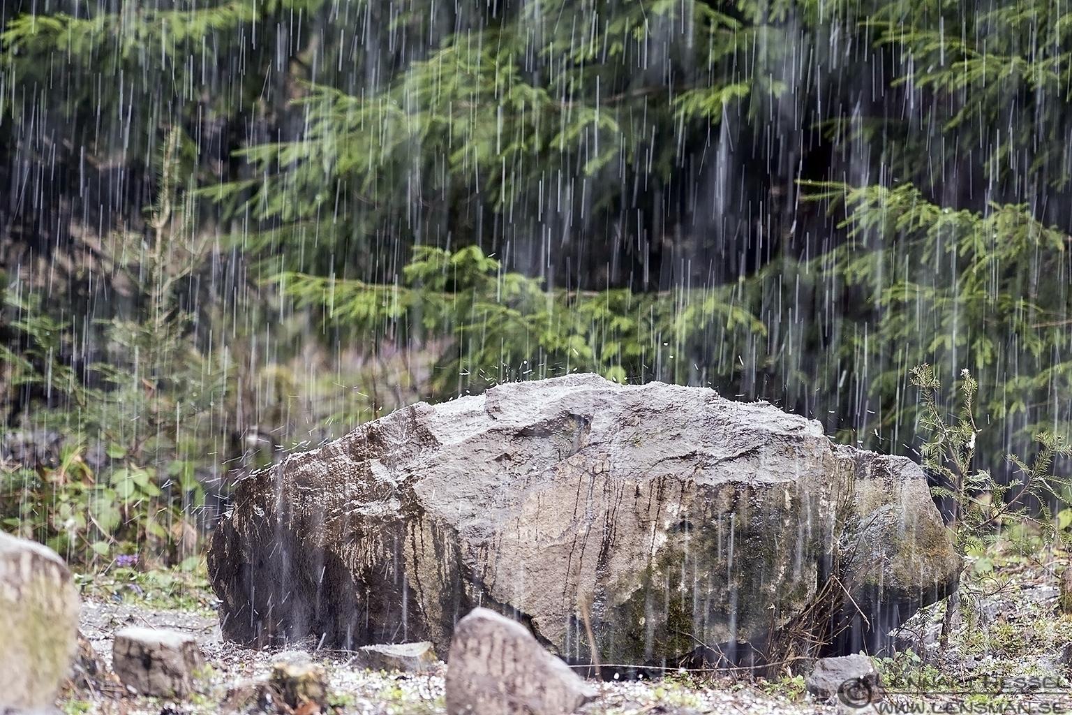 Hailstorm Transylvania, Romania