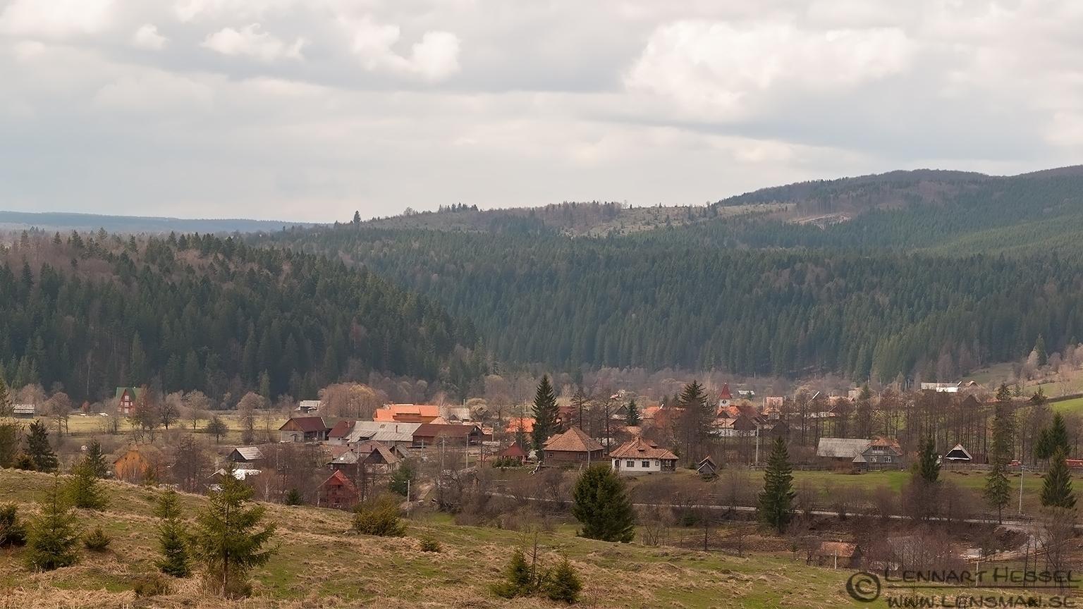 Village Transylvania, Romania