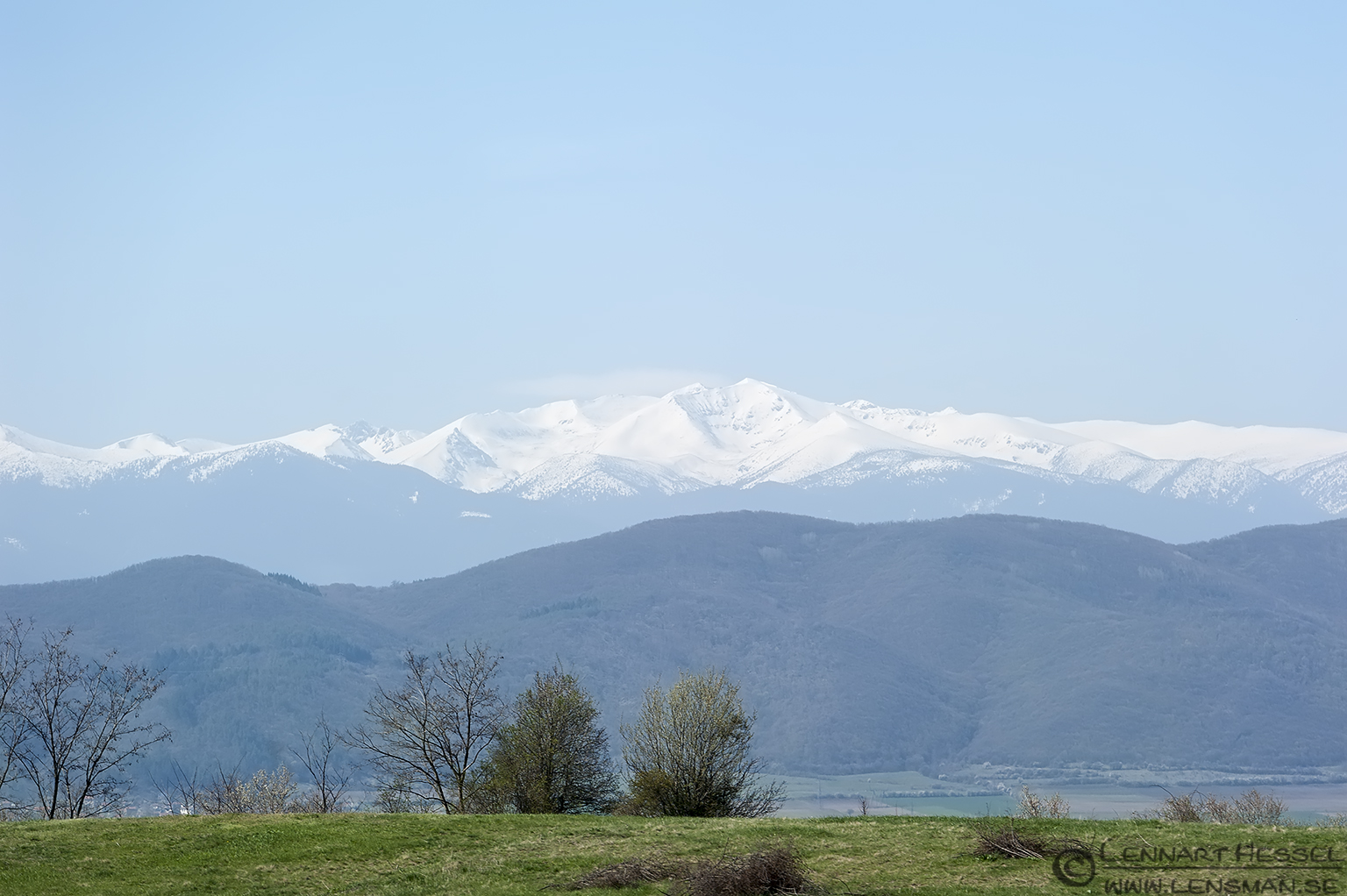 Mountains in Bulgaria