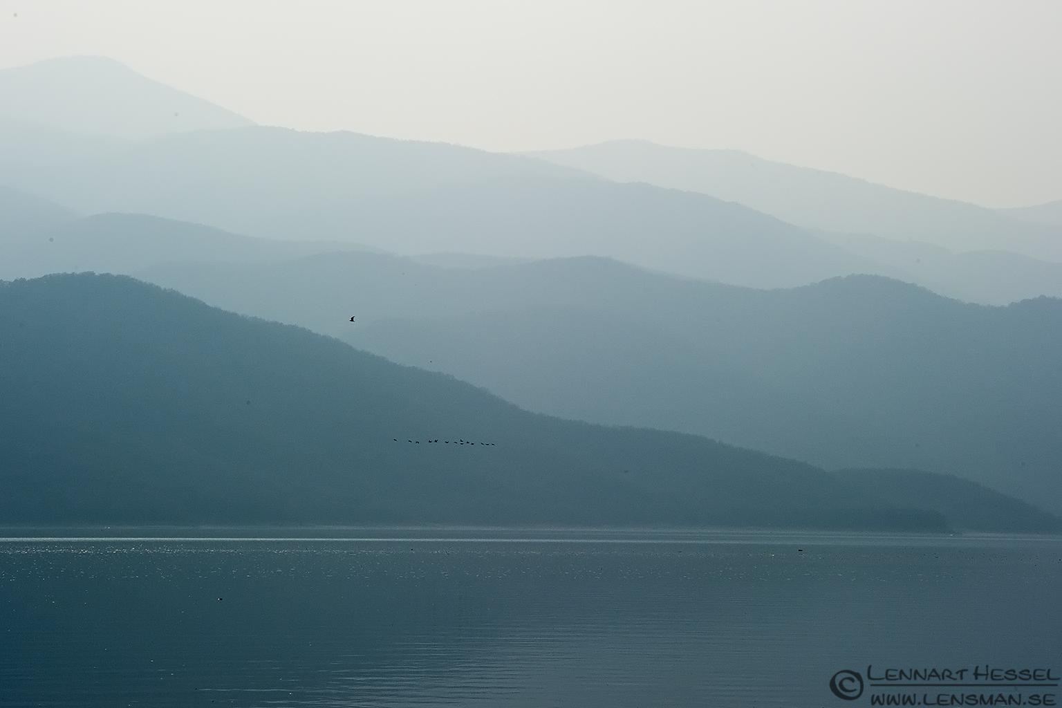 Mountains Lake Kerkini