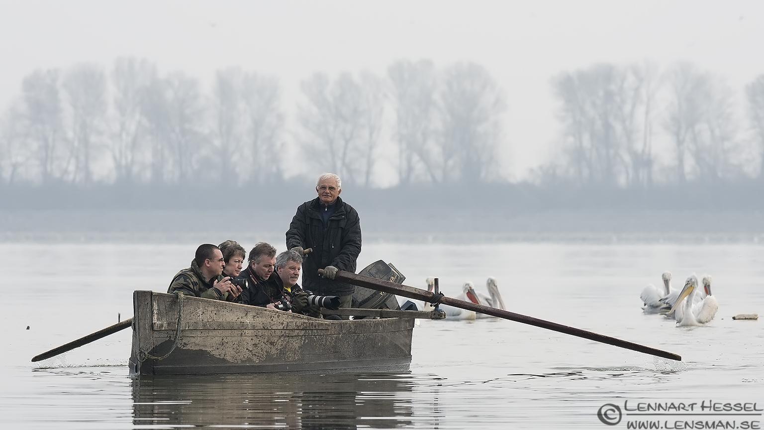 The boat Dalmatian Pelican workshop