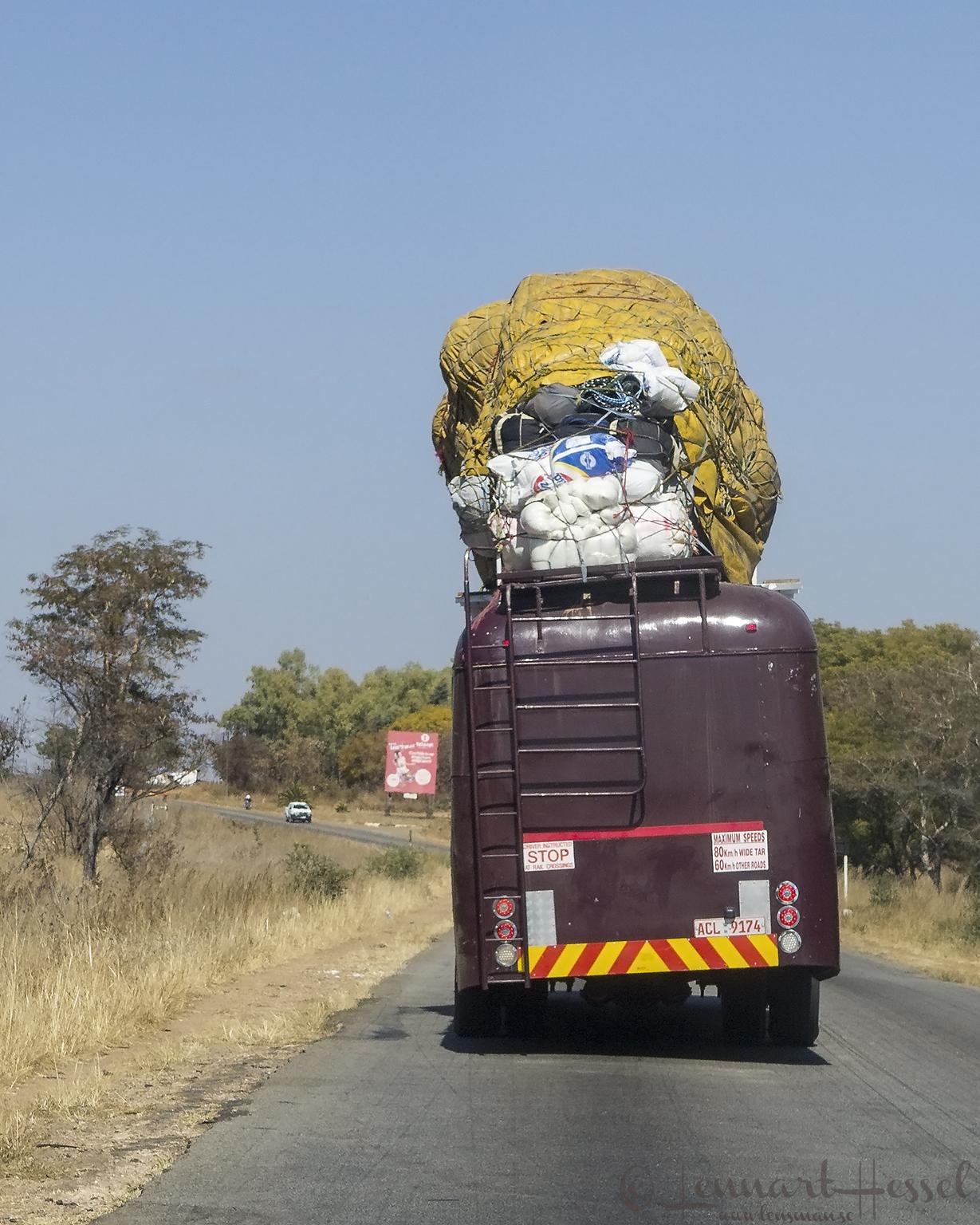 Bus in Zimbabwe