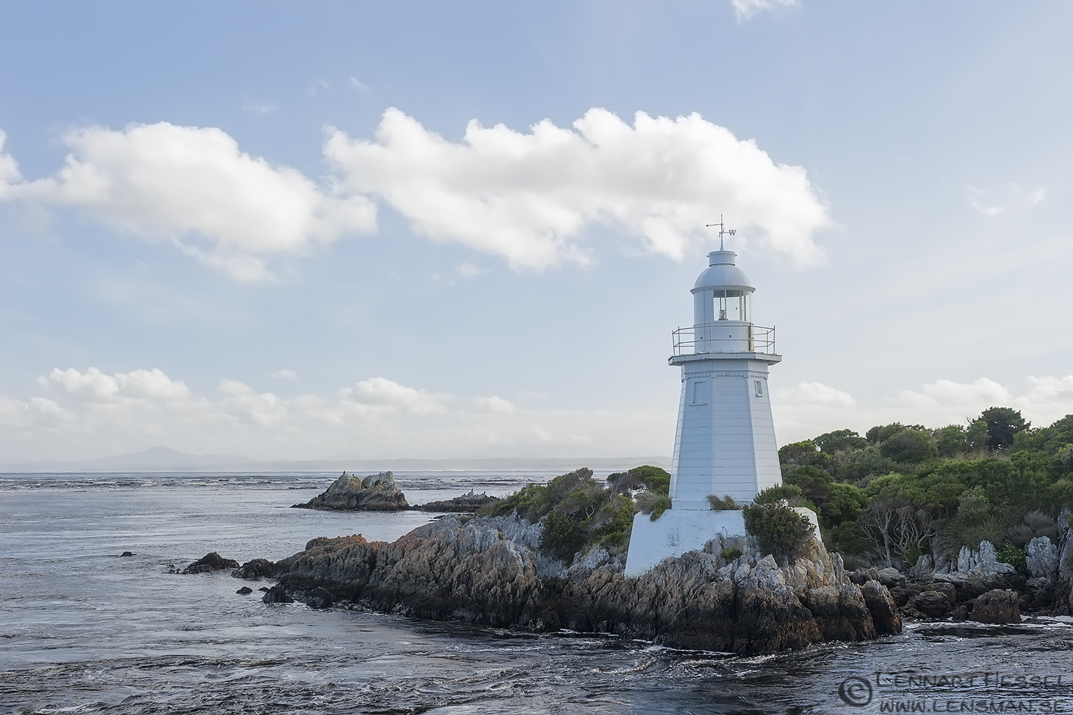 Lighthouse Strahan Tasmania