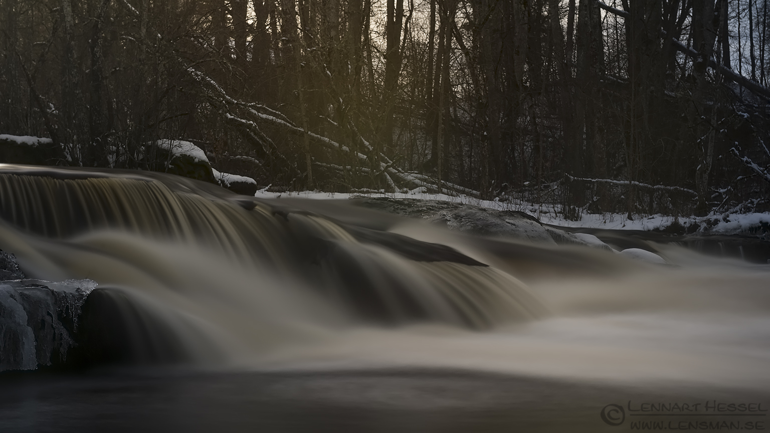 Water soft fall Främmestad