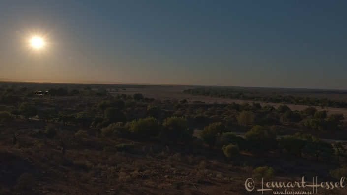 Sunset Confluence Point South Africa Mapungubwe road trip