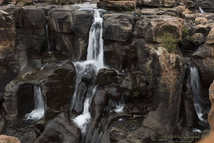 Waterfall South Africa Panorama route road trip