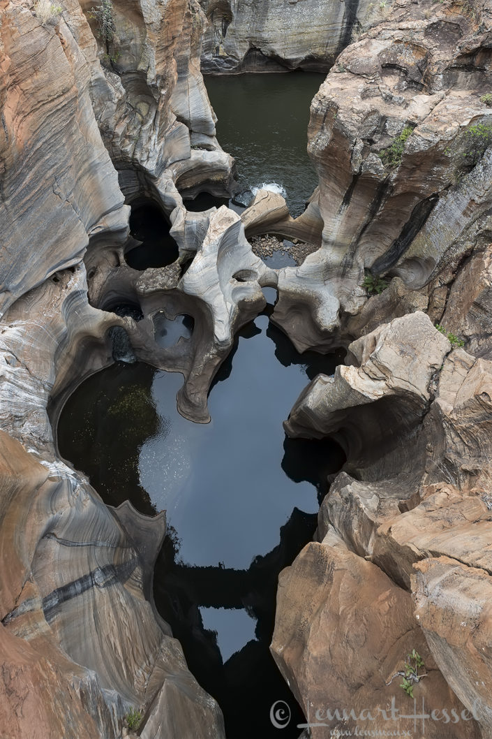 Bourkes Luck Potholes Panorama route South Africa