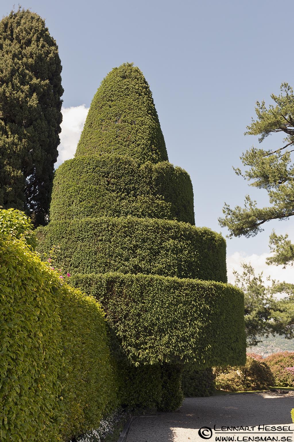 Isola Bella garden at Lago Maggiore, Italy Piedmont