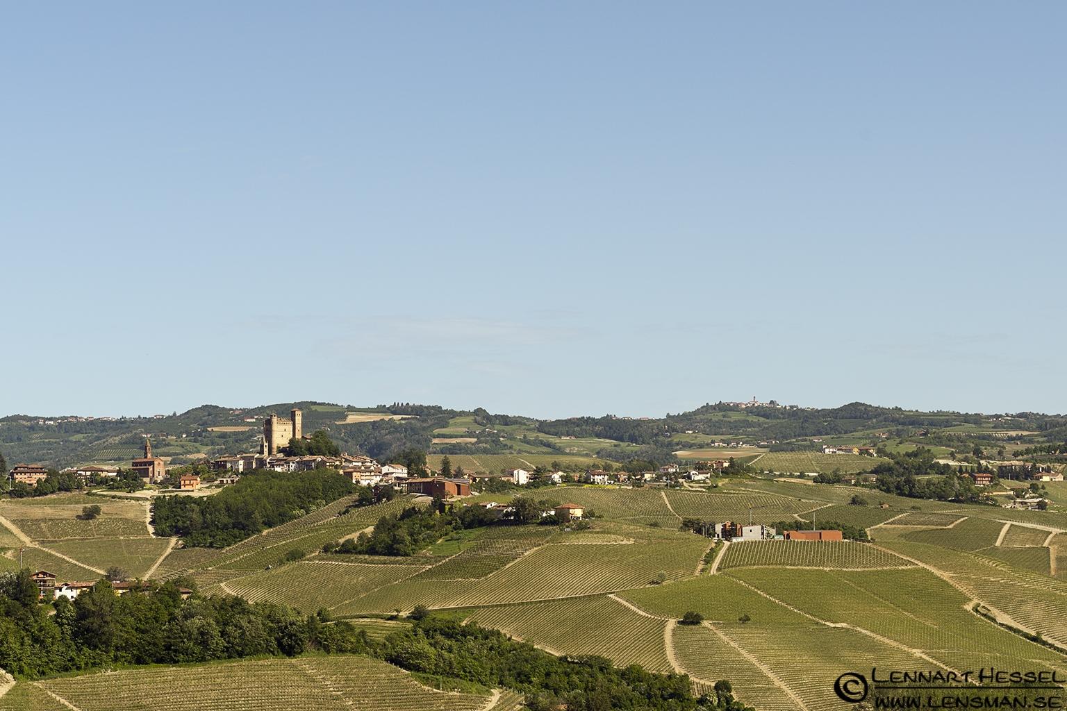 Serralunga d'Alba in Piedmont, Italy