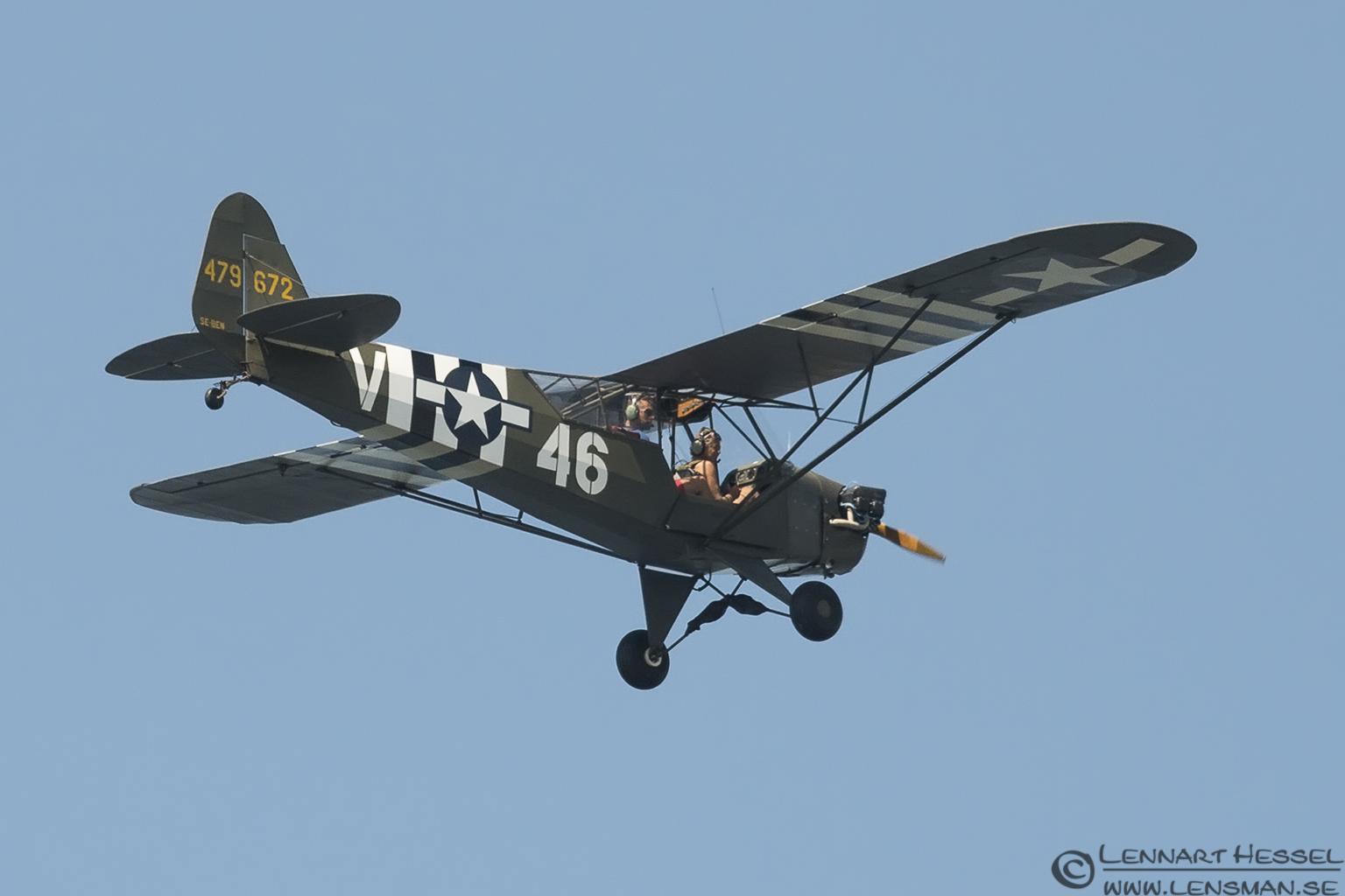 Airplane over Getterön Halland
