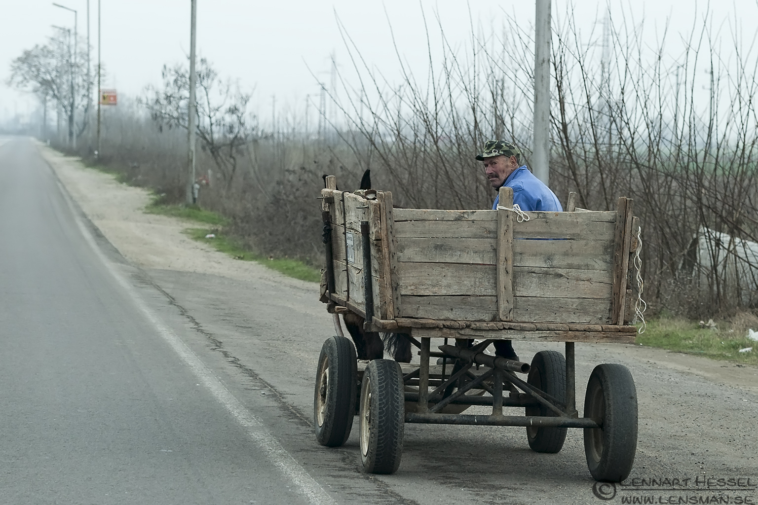 The cart Bulgaria