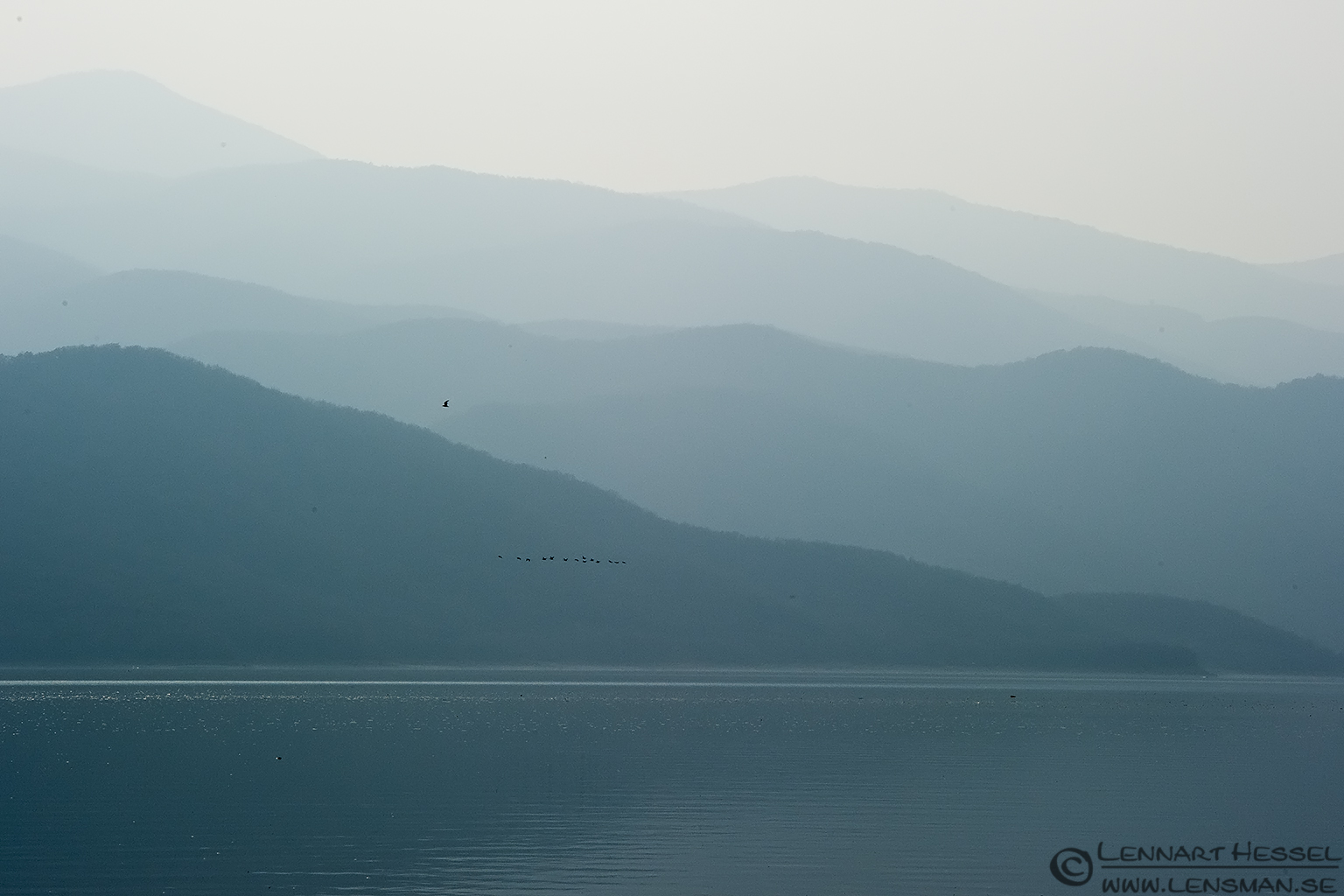 Mountains Lake Kerkini