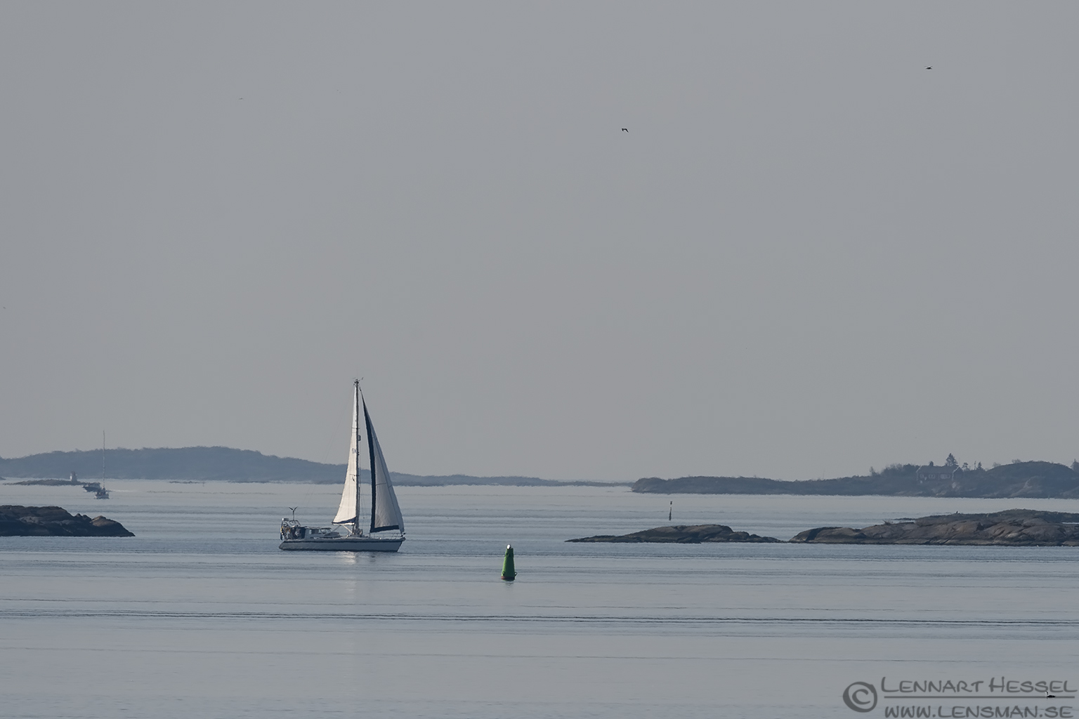 Sailing boat Easter day