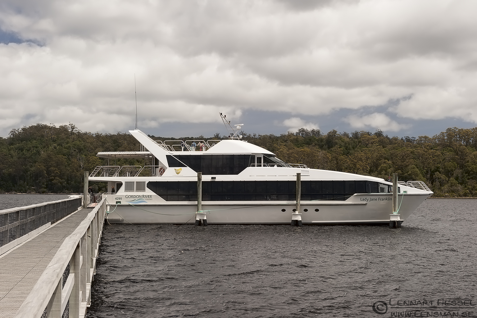 Gordon River cruiser Tasmania