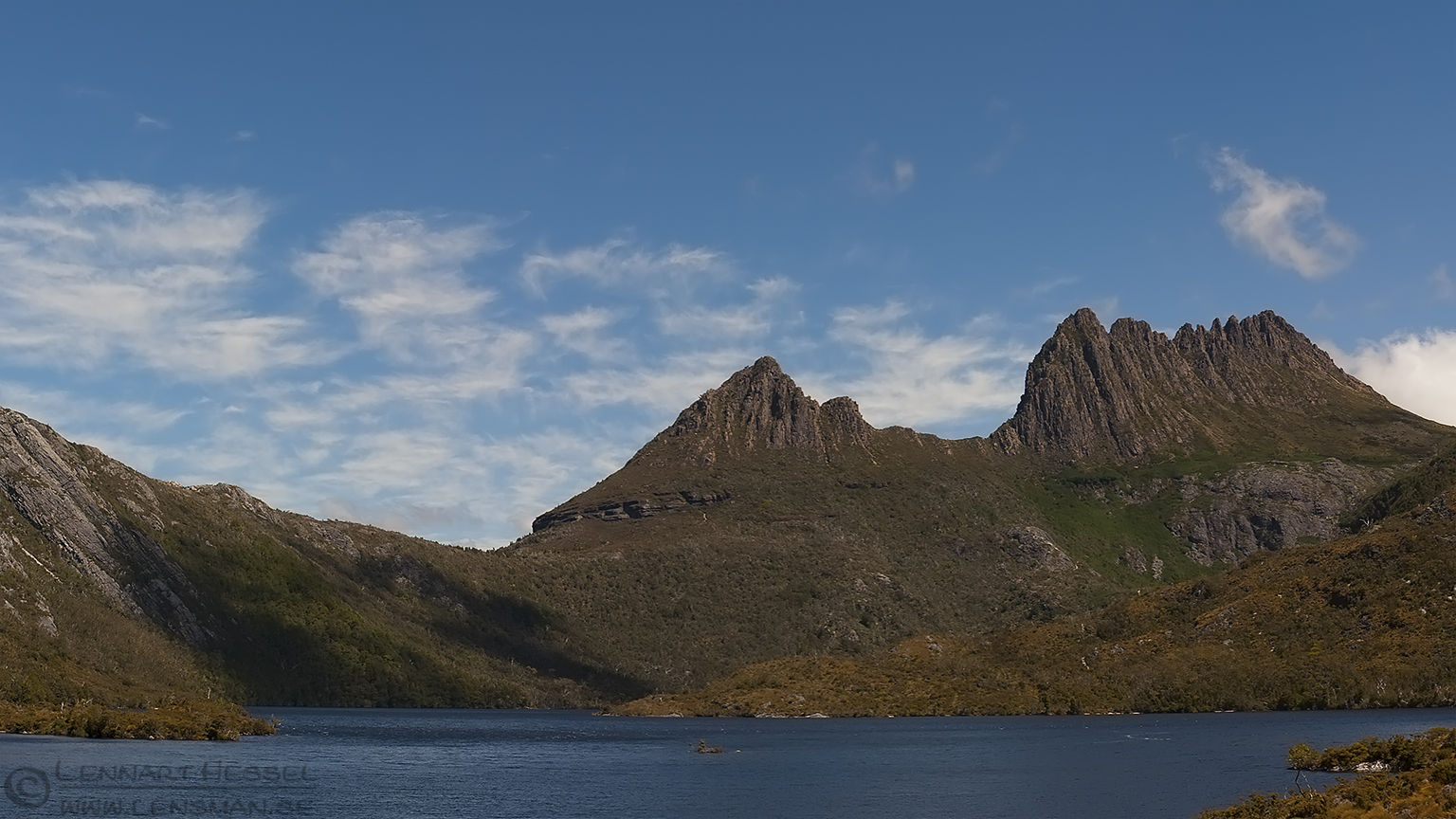 Dove Lake Cradle mountains Tasmania