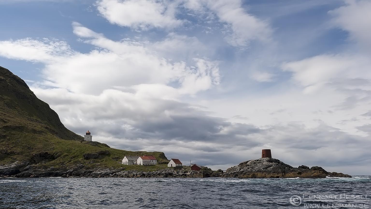 Runde lighthouse Runde
