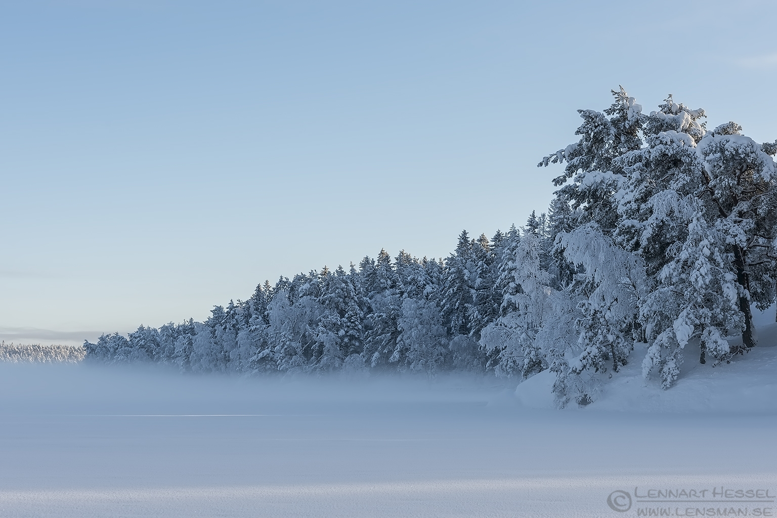 Winter at Surtesjön