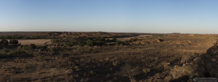 Confluence point Mapungubwe South Africa