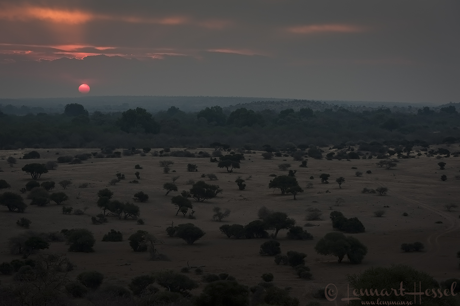 Sunset Tuli Block Mashatu Game Reserve