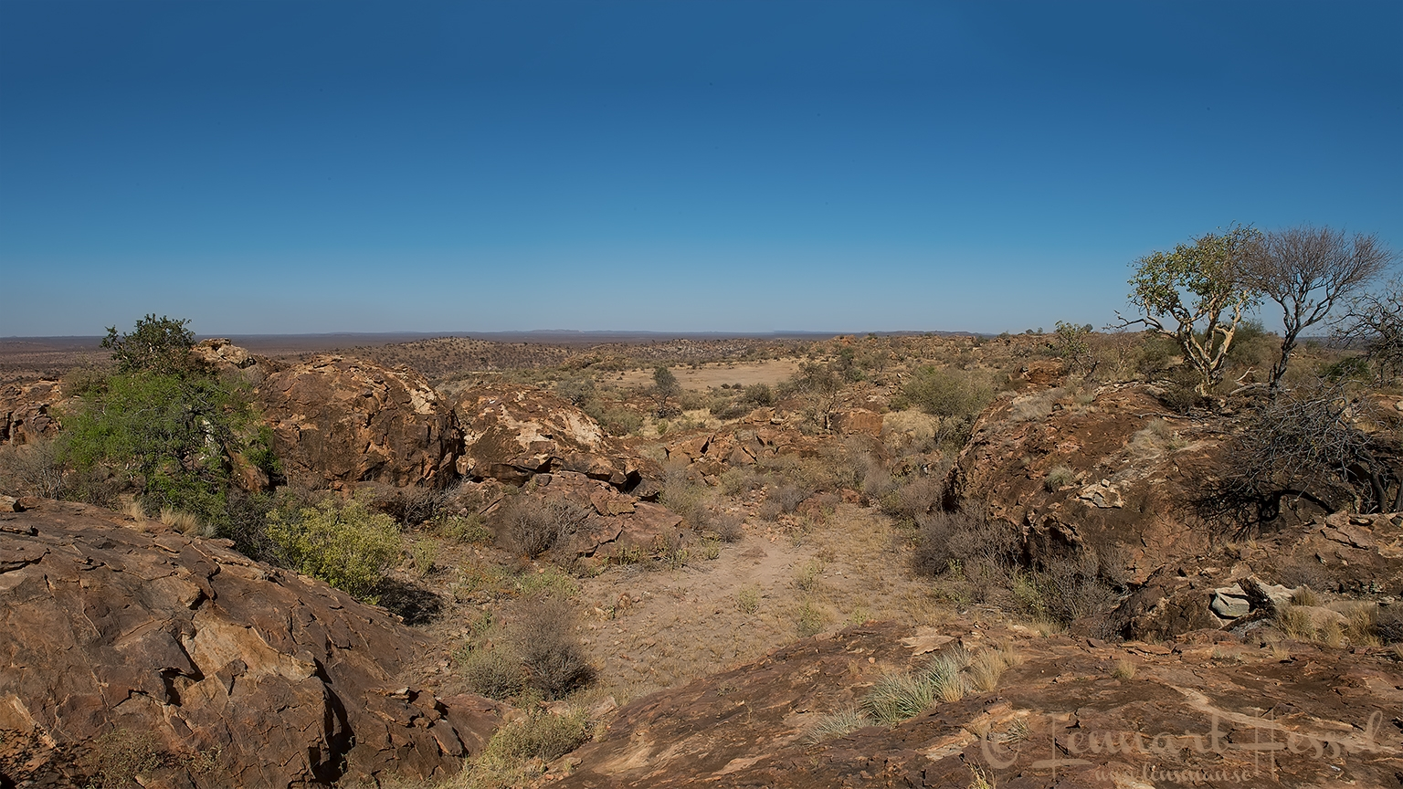 View from Eagles Rock Tuli Block Tuli Wilderness