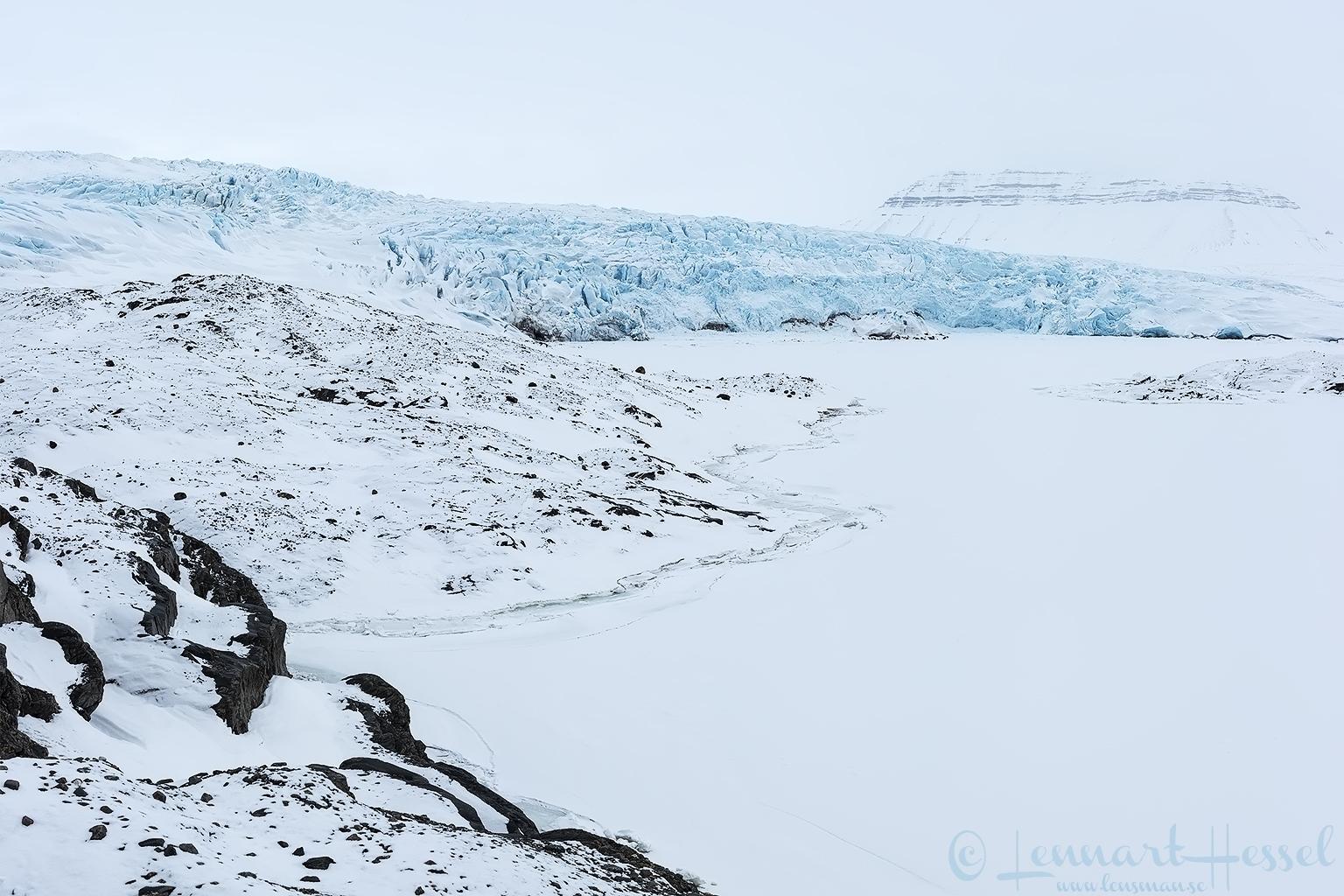 Nodenskiöld glacier Arctic Svalbard