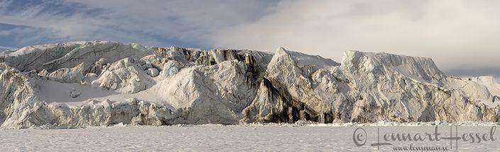 Breen front at Mohnbukta Svalbard