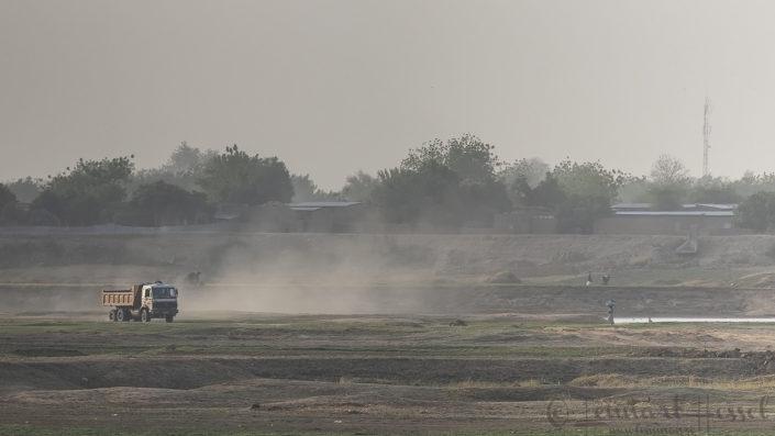 Dust in the air N'Djamena Chad