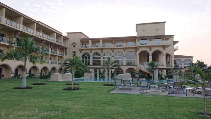 Hilton in the morning N'Djamena Chad